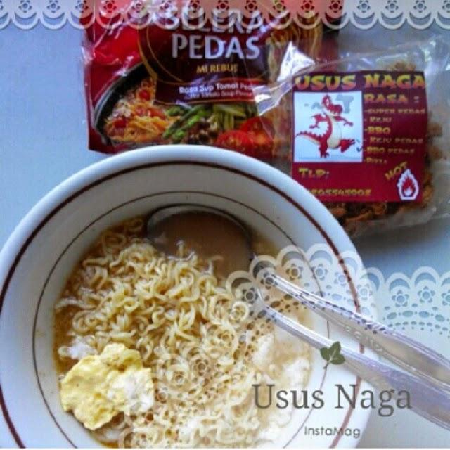 Usus Naga w/ noodle