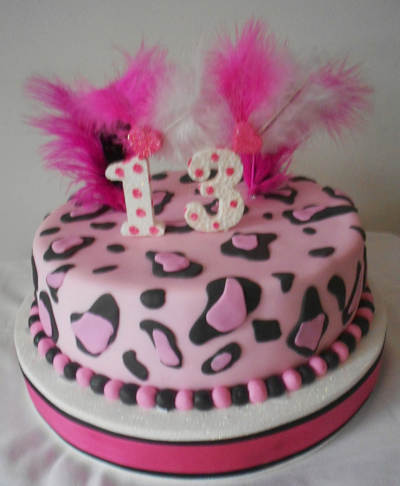 Pin Torta Animal Print Leopardo Paso A Pasopng on Pinterest
