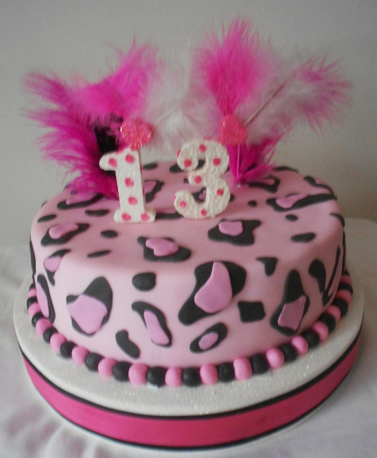 Pin Torta Animal Print Leopardo Paso A Pasopng on Pinterest