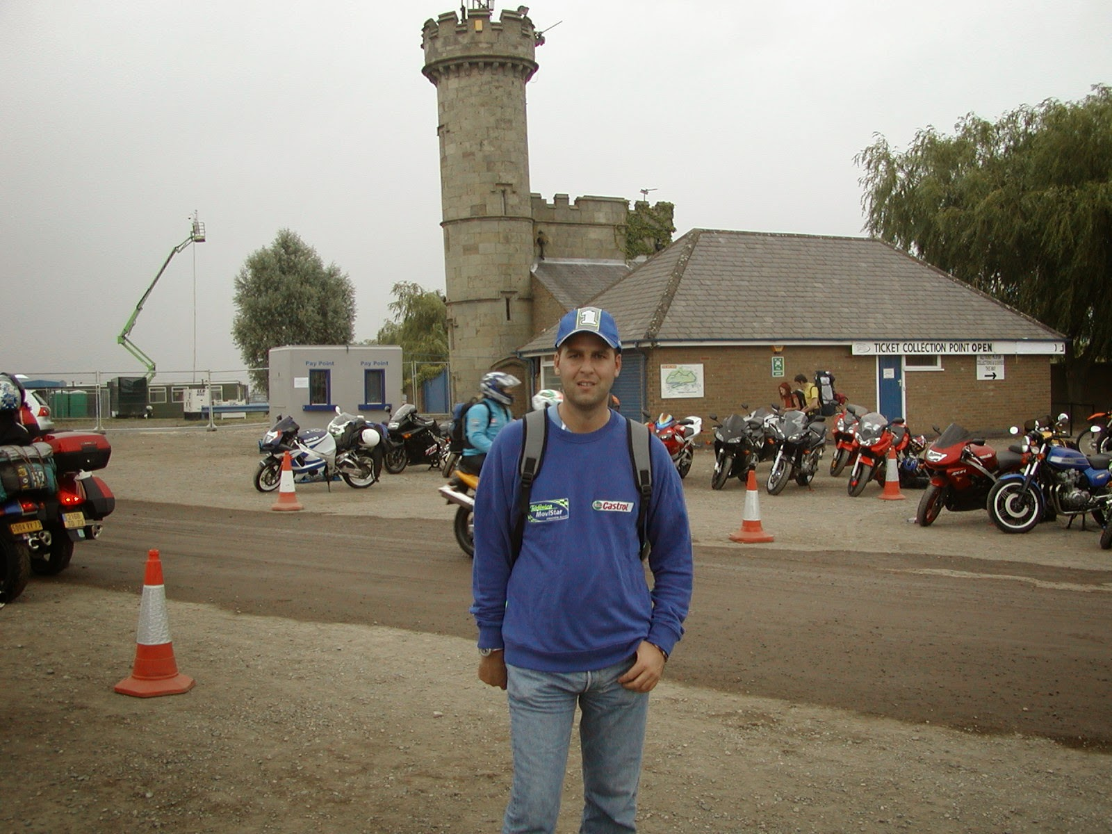 circuito de donington park en Reino Unido