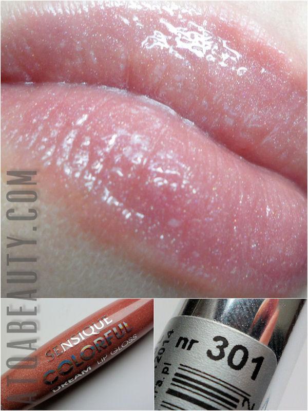 Sensique, Colorful Dream Lip Gloss, 301