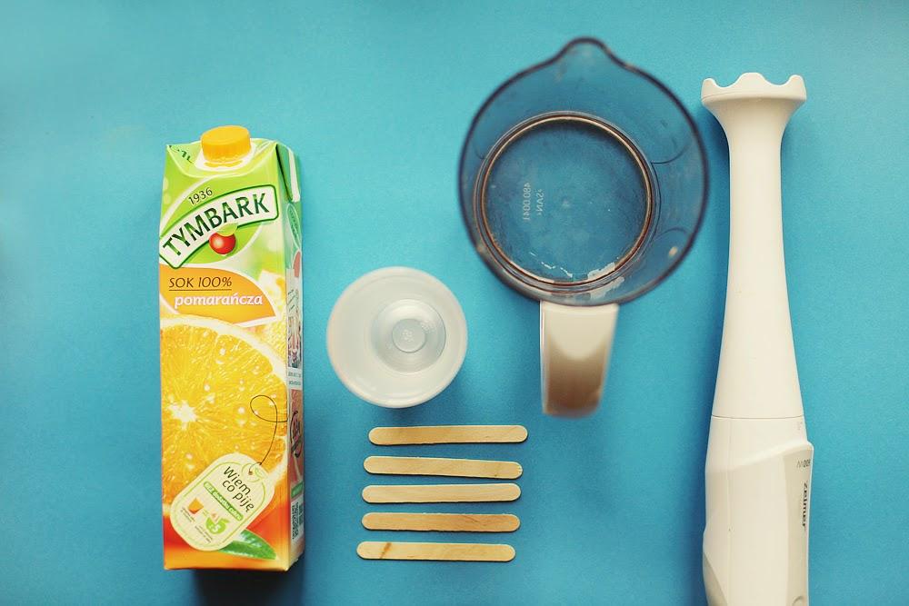 lody owocowe domowej roboty homemade ice cream moniusza b