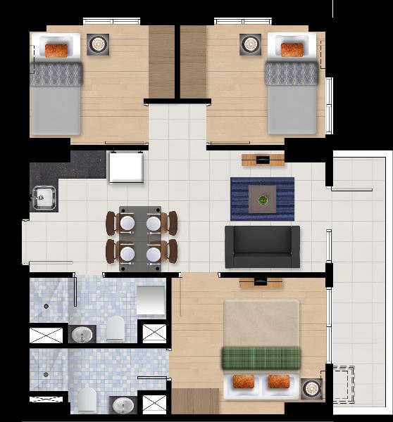 Ascentia Condominium Units 3 Bedroom