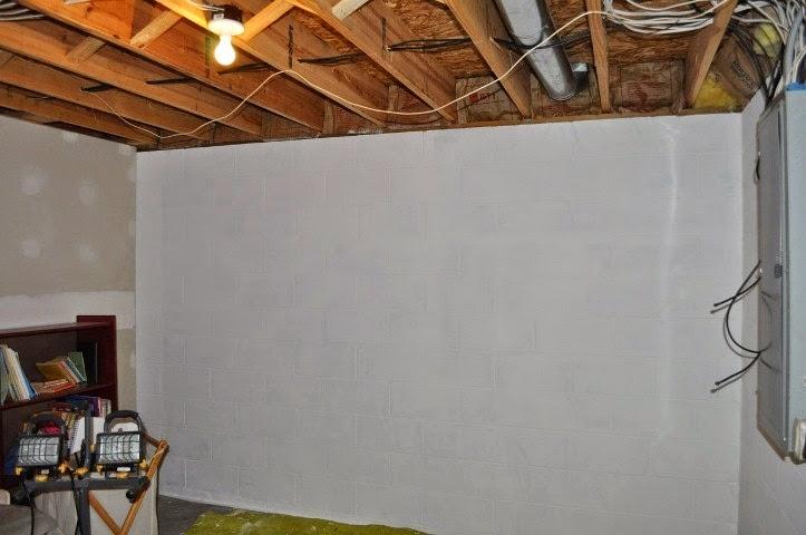 ideas for painting concrete basement walls