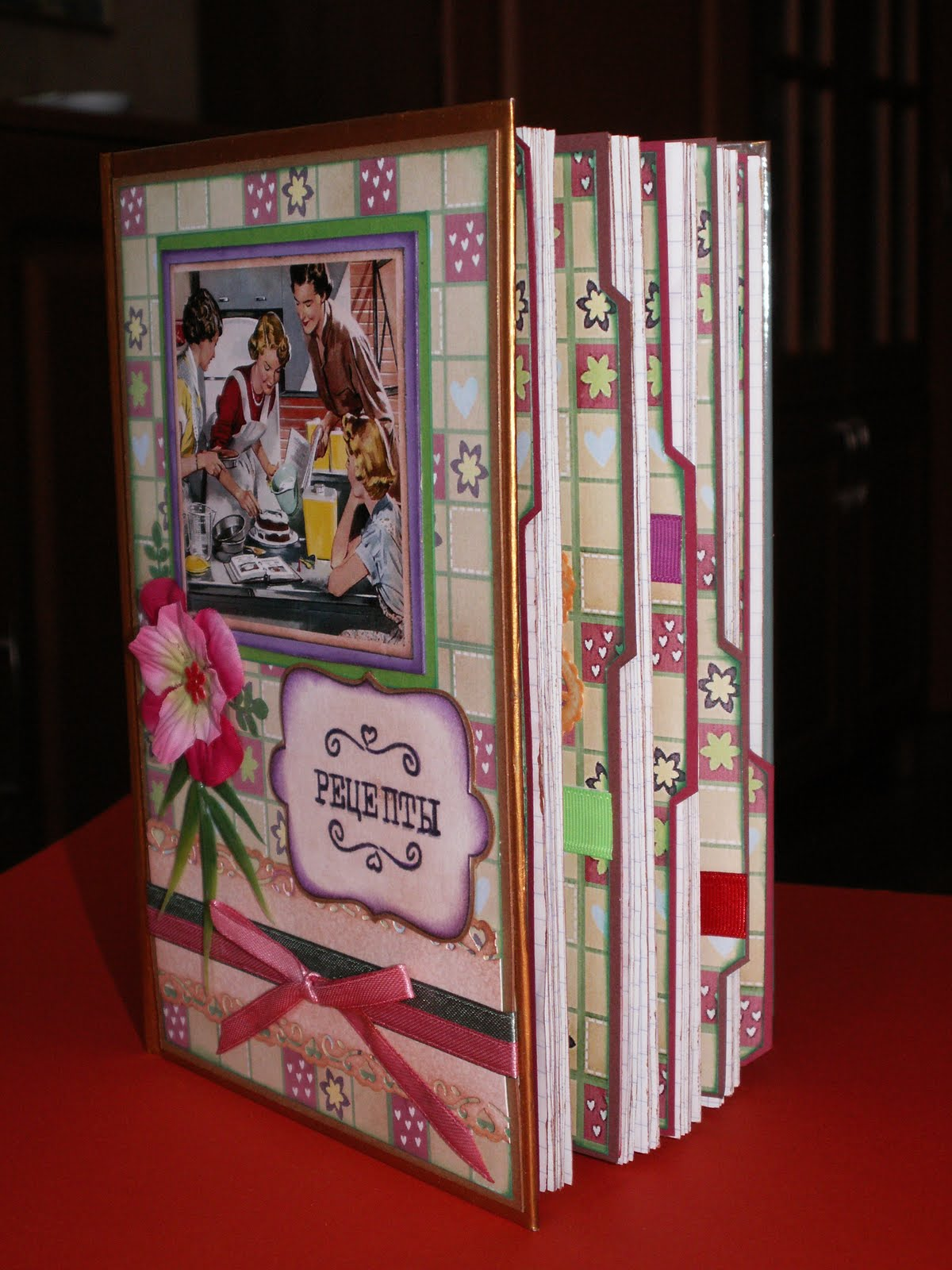 Книга для записей своими руками фото