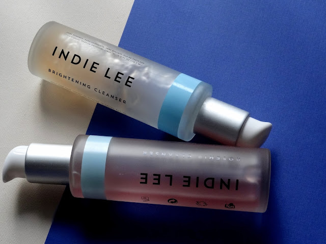 Indie Lee Brightening Cleanser and Rosehip Cleanser
