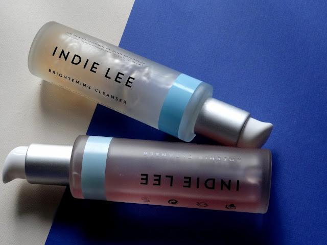 Indie Lee Brightening Cleanser and Rosehip Cleanser