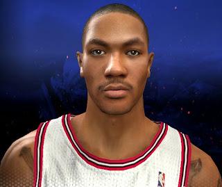 NBA 2K14 Derrick Rose Cyberface Mod