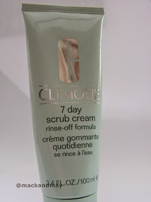 Clinique 7 day scrub; clinique;