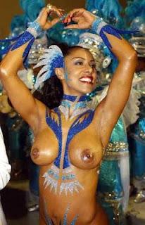 Brazil Carnival Nude Stock-Fotos und Bilder Getty