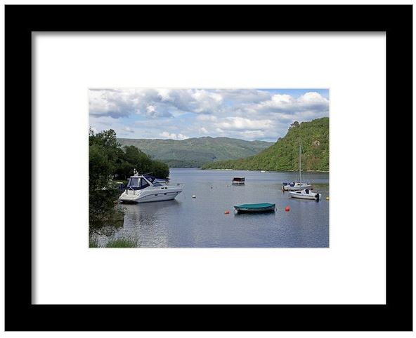 Buy Framed Print of Loch Lommond