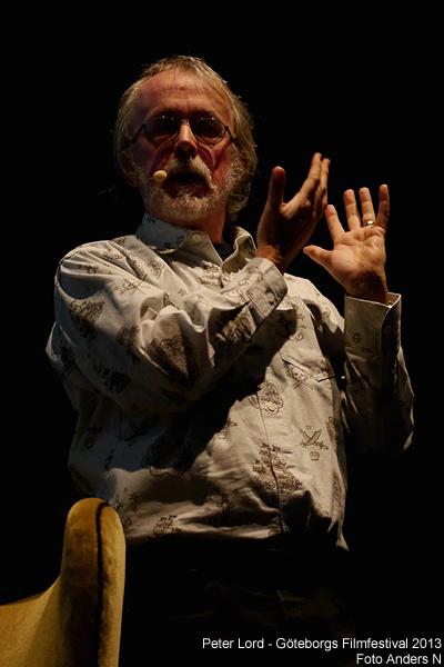 Peter Lord, aardman, animatör, animator, göteborg, göteborgs filmfestival 2013, giff, gothemburg, gothenburg, international, film festival