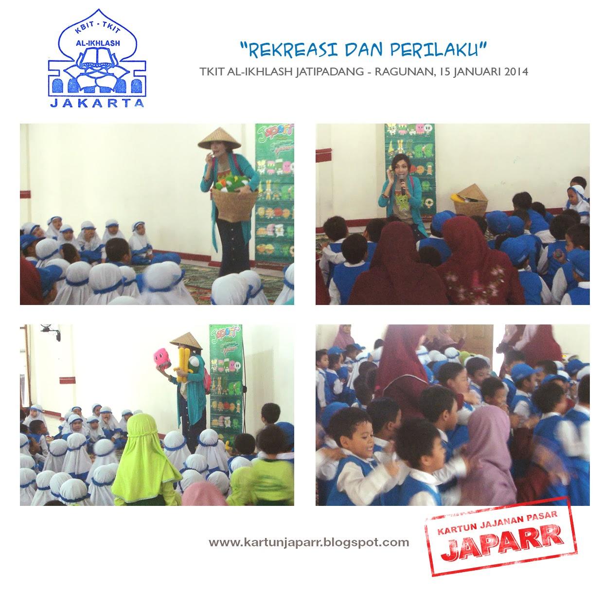 Rekreasi dan Perilaku' @ TKIT Al - Ikhlash Jatipadang