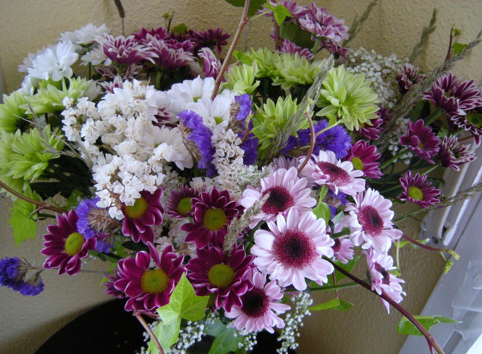 Flores naturales ramo de flores - Centros de plantas naturales ...