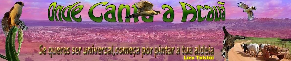 ONDE  CANTA   A   ACAUÃ