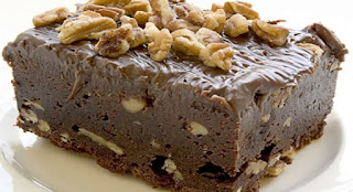 Torta de Chocolate con Glaseado de Nueces