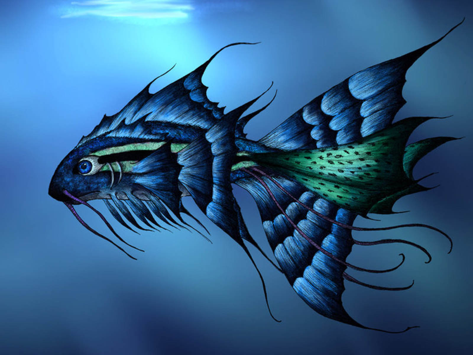 wallpapers 3d fish wallpapers For3d Fish Wallpaper