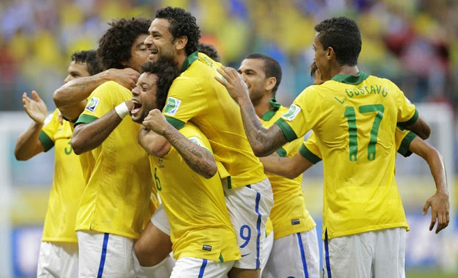 Brazil to win 2014 World Cup