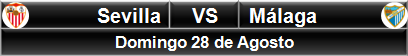 Sevilla vs Málaga