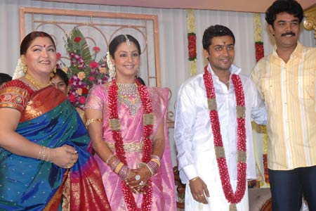 jyothika wedding pictures