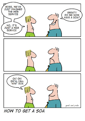 service oriented arch karikatür