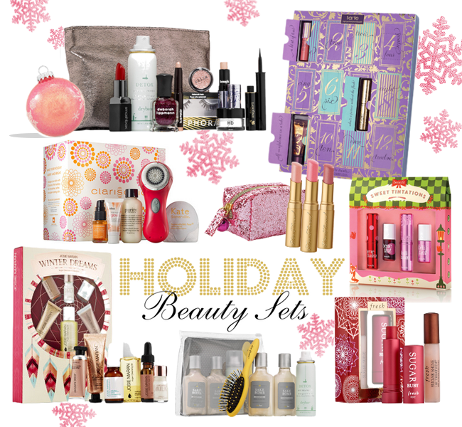 A good hue gift guide holiday beauty sets