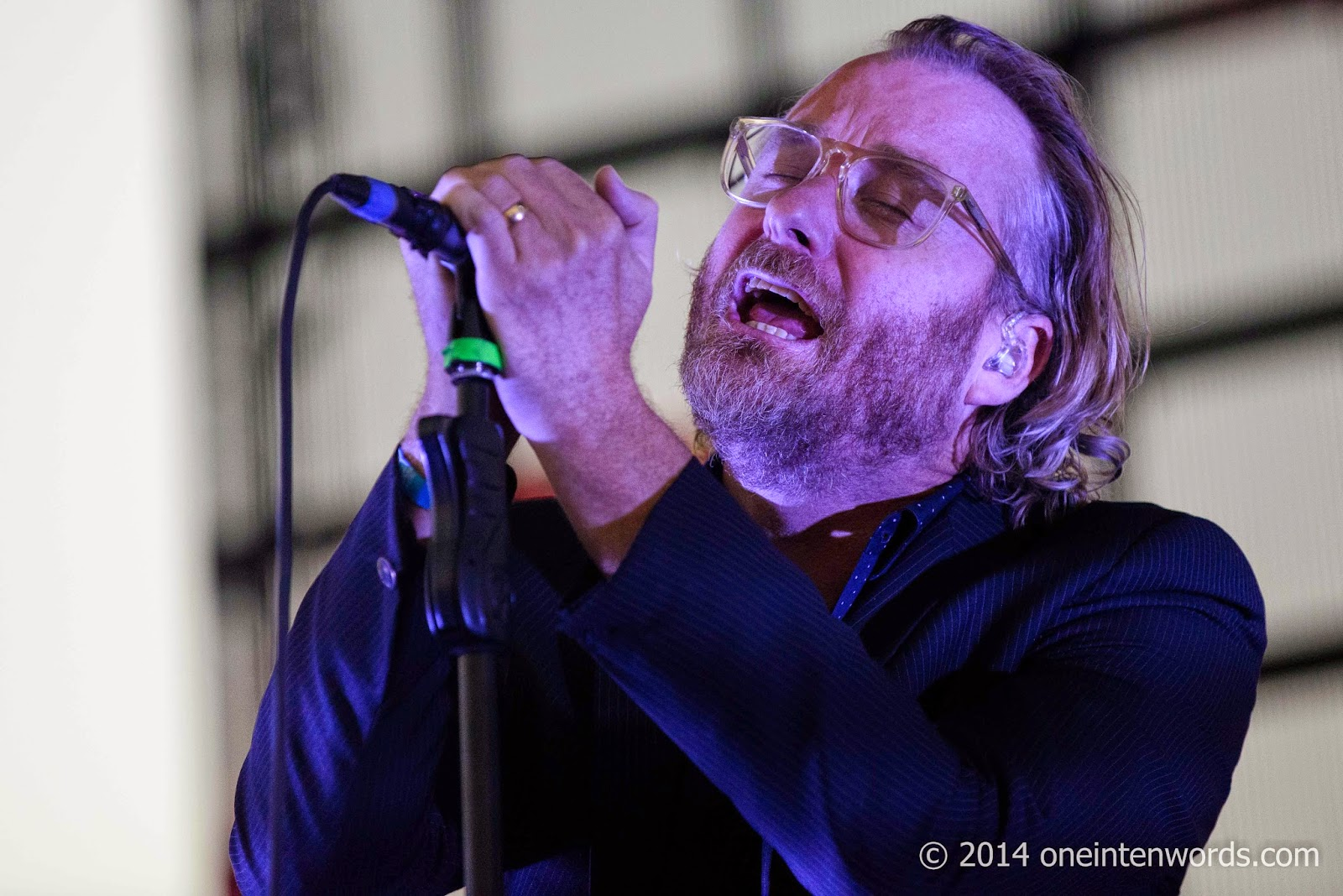 The National at Riot Fest Toronto September 7, 2014 Photo by John at One In Ten Words oneintenwords.com toronto indie alternative music blog concert photography pictures
