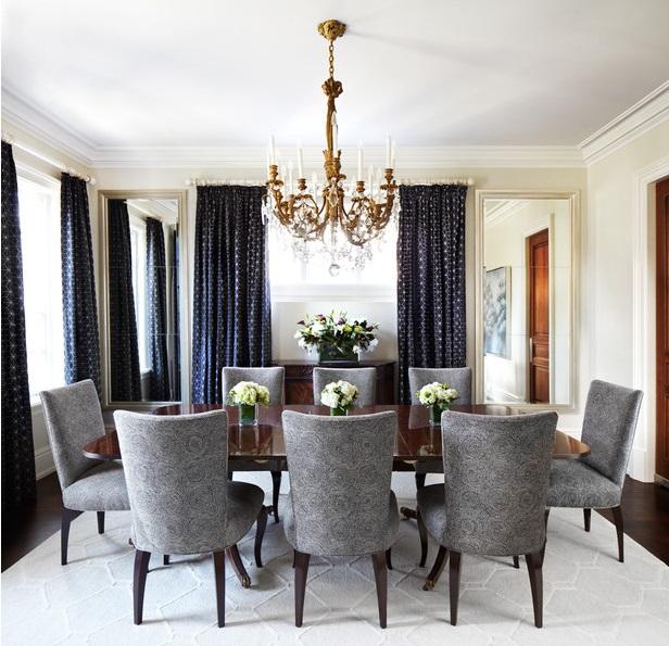 Rideaux de salle manger rideaux et voilages - Rideau salon salle a manger ...