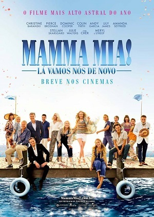 Mamma Mia Here We Go Again - HDRIP Legendado 1080p Download torrent download capa