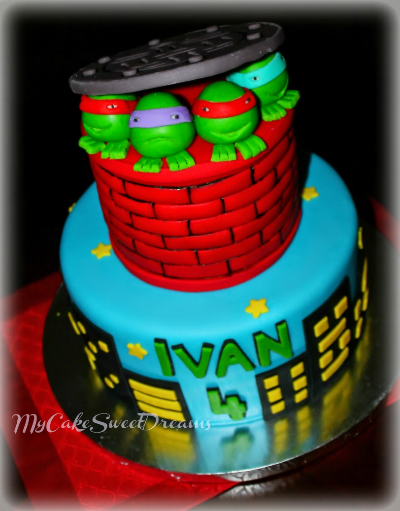 My Cake Sweet Dreams Teenage Mutant Ninja Turtles Cake
