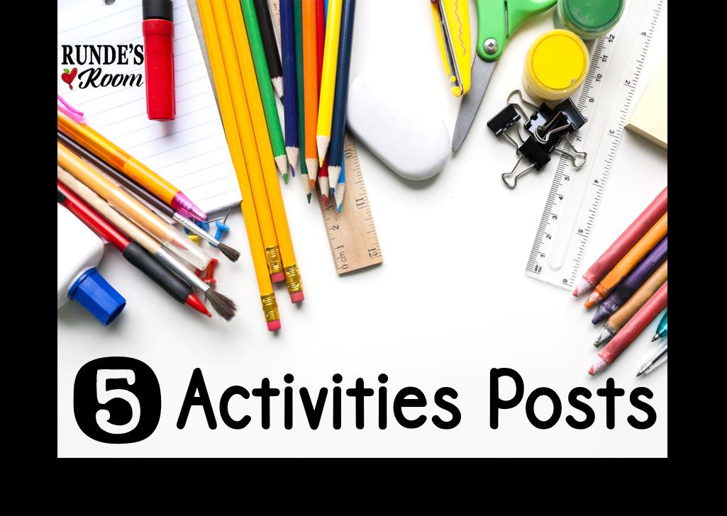 5 Activities Posts