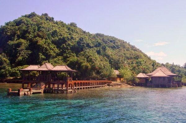 Wisata Pulau Pahawan Lampung