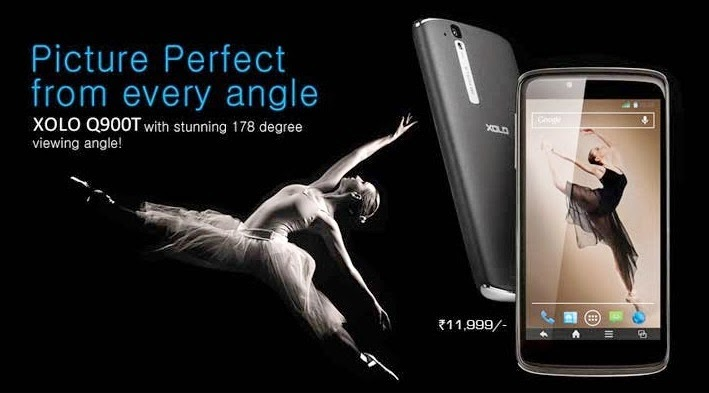 Xolo Q900T Dual Sim phone under 12K Price in India Specifications