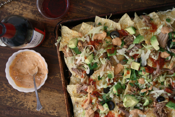 Game-Day Pulled Pork Nachos
