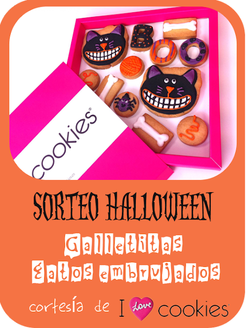 sorteo galletas Halloween