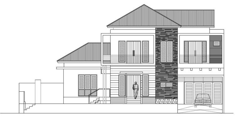 Gambar Rumah Tampak Depan