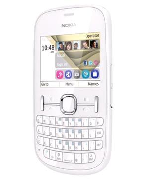 Nokia Asha 201 Blanco Tienda Claro Perú