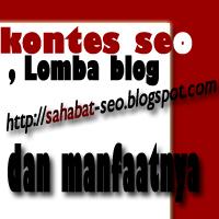 Manfaat Ikutan Kontes Seo dan Lomba Blog