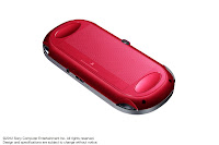 PS Vita Cosmic Red (Back)