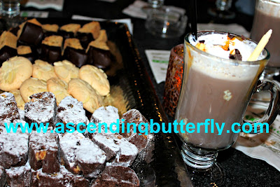Spiked Salted CaramelHot Chocolate Cocktail at 10 North Lounge Tropicana Atlantic City Casino
