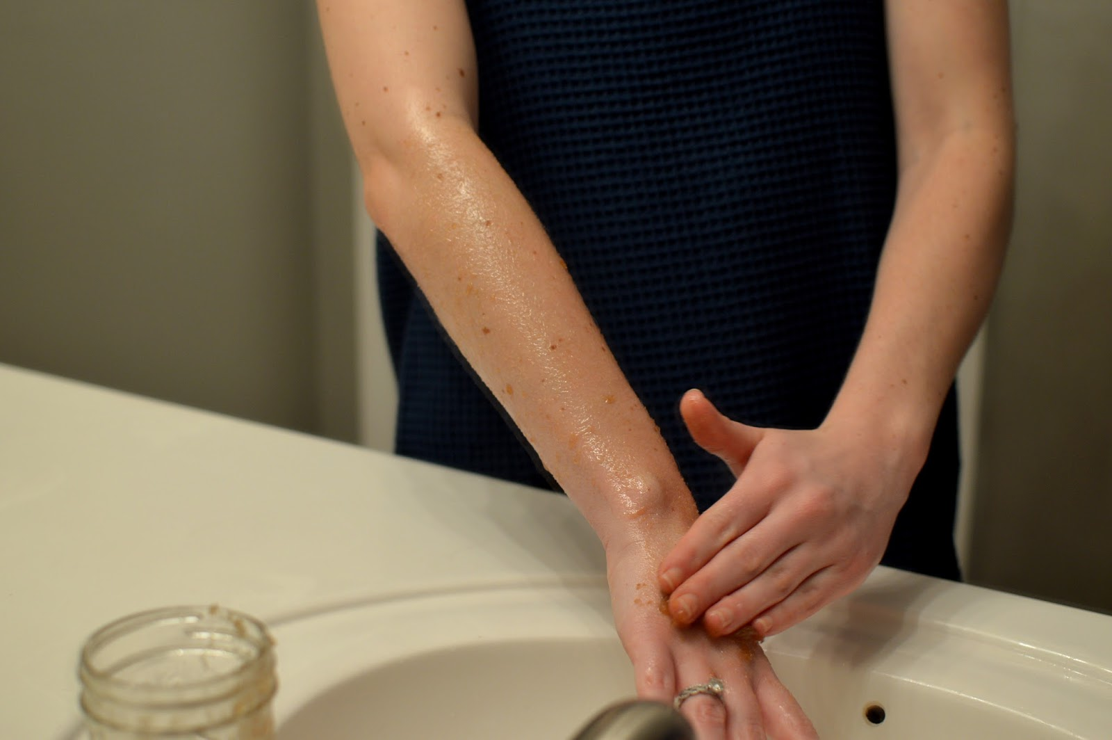 make your own body exfoliator