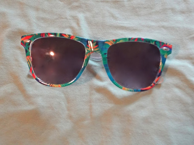 tropical forever21 sunglasses