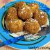 Sweet cheese balls or cheese dumplings