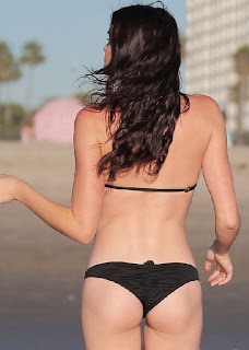 Courtney Robertson black bikini Los Angeles