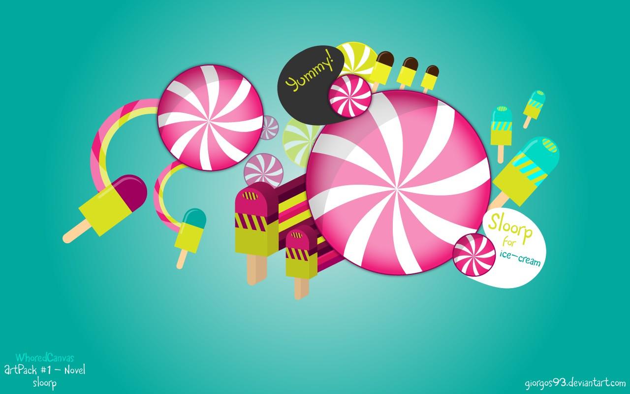 Sloorp For Ice cream 2 Free Desktop Wallpaper