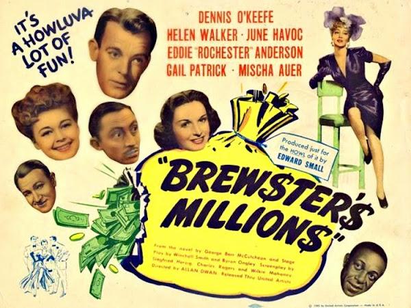 Classic Cinema Spotlight: Brewster's Millions