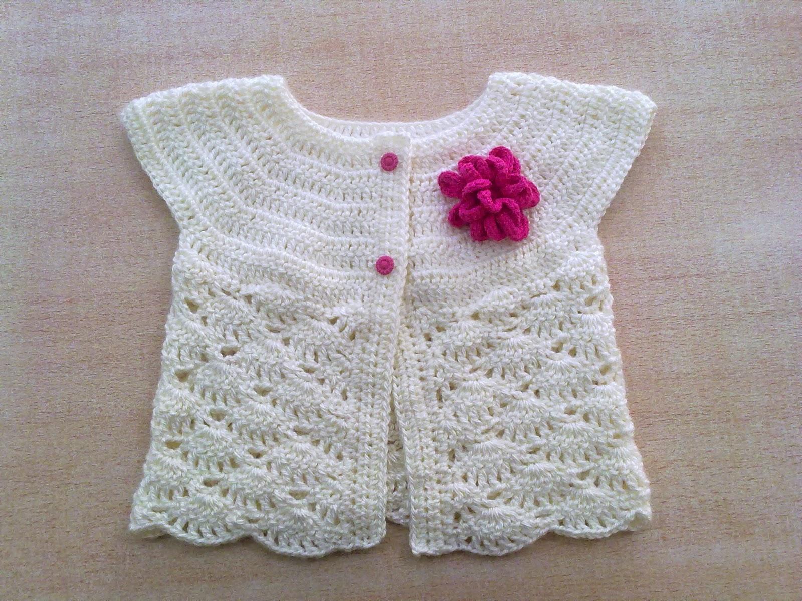 Liliana Milka Crochet: Chaleco con flor
