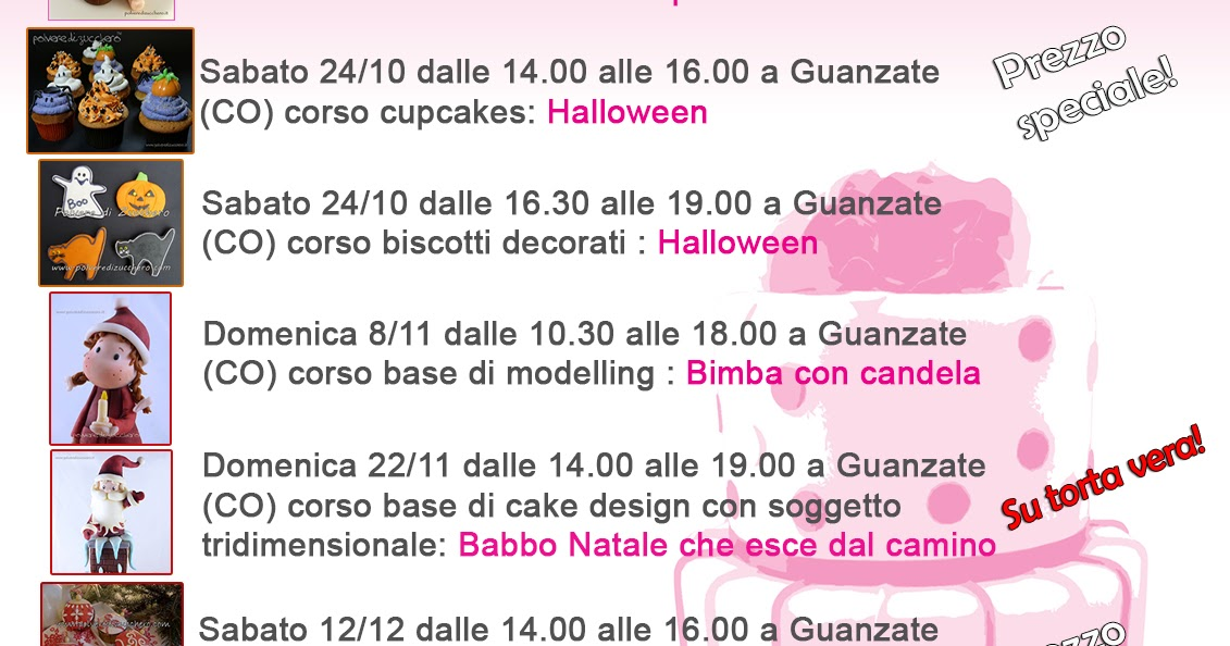 Corsi di cake design: il calendario dei nuovi corsi di ...