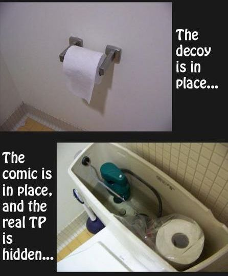 Two Toilet Pranks Damn Cool Pictures