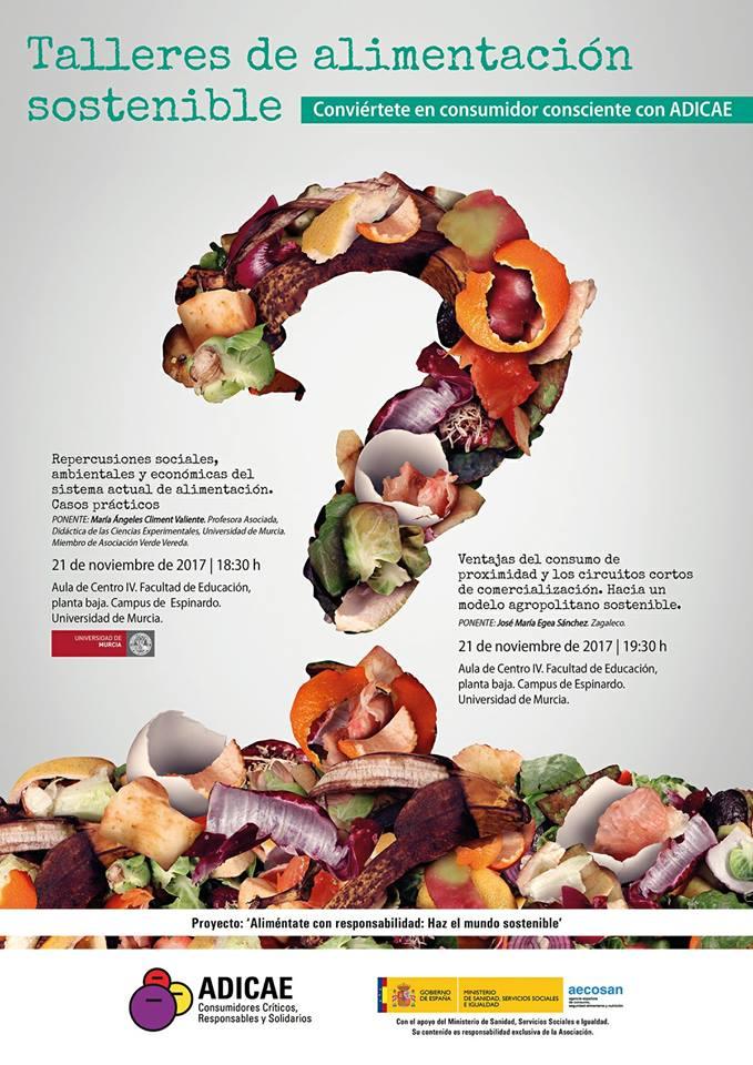 Talleres de alimentación sostenible